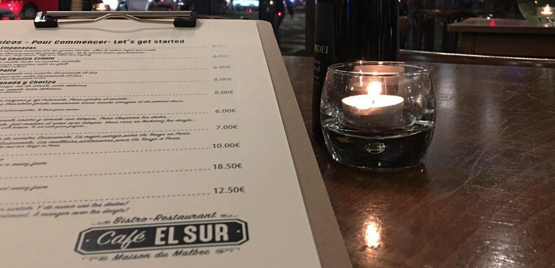 Restaurant Argentin Cafe El Sur